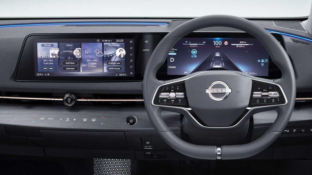 Nissan Ariya Konsol ve Direksiyon