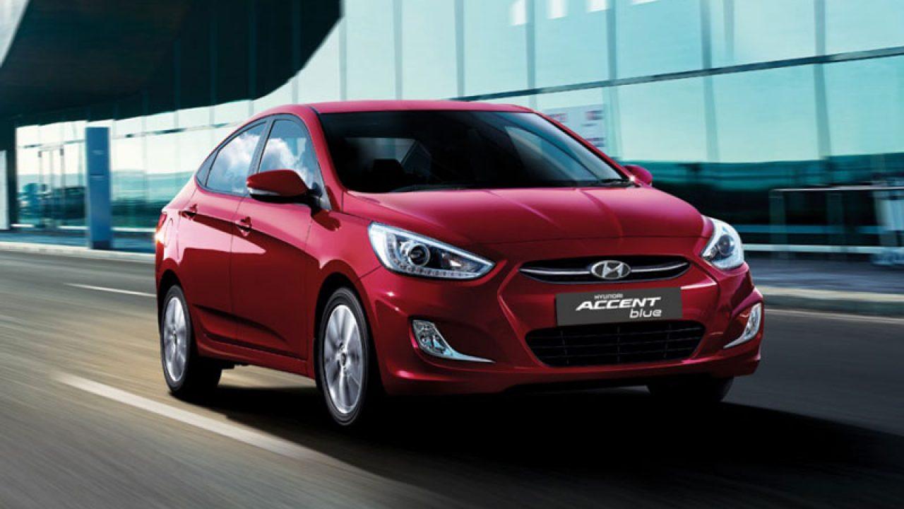 2018 Hyundai Accent Blue 1.4 CVT