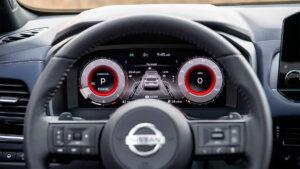 2021 nissan qashqai direksiyon ve sürücü ekranı