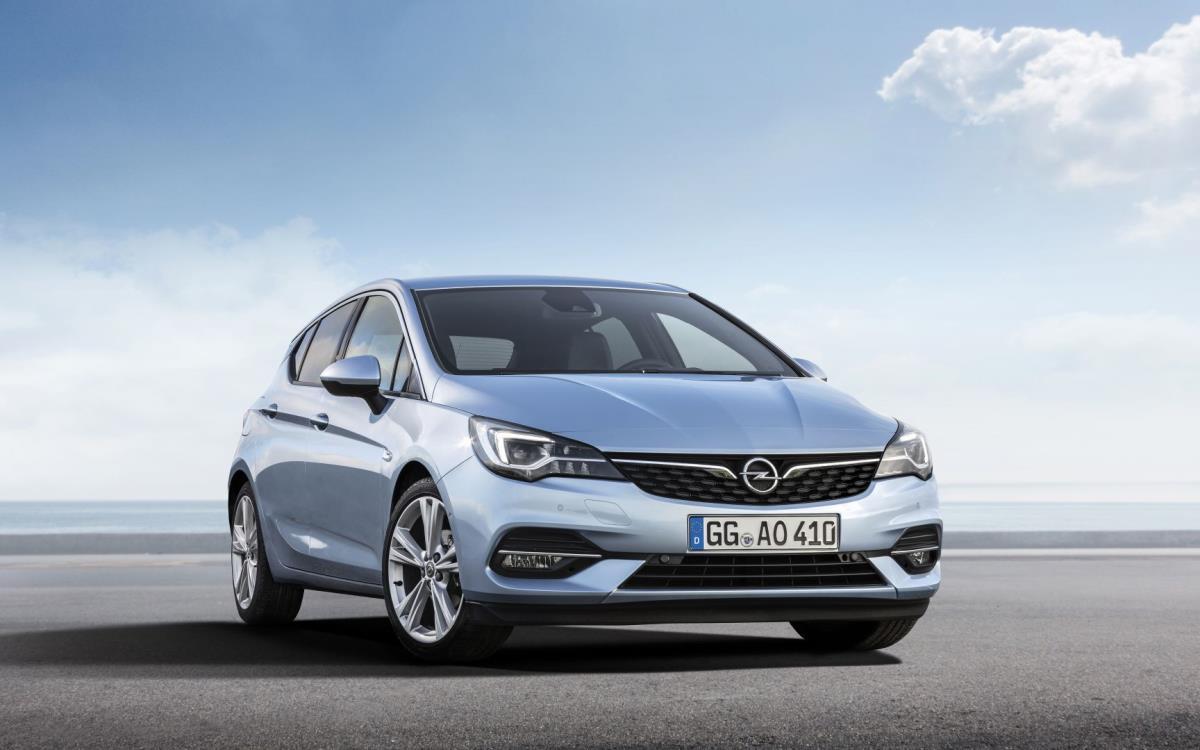 2021 Opel Astra 1.4 CVT