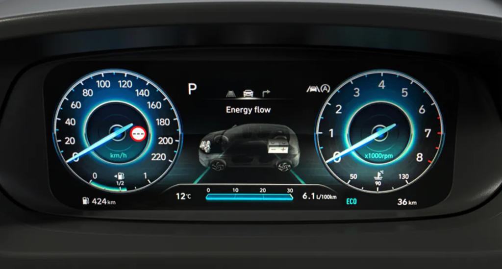 2021 Hyundai Bayon Dijital Gösterge