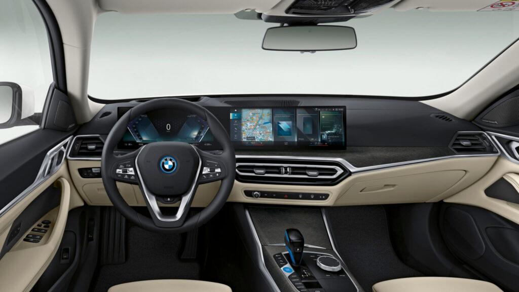 BMW i4 iç Tasarım
