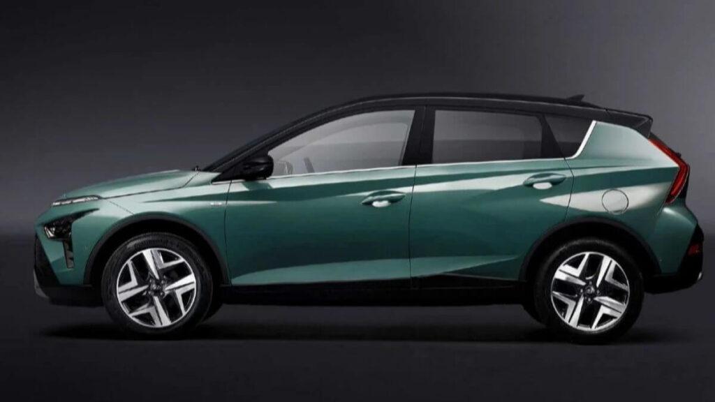 2021 Hyundai Bayon Yan Görünüm