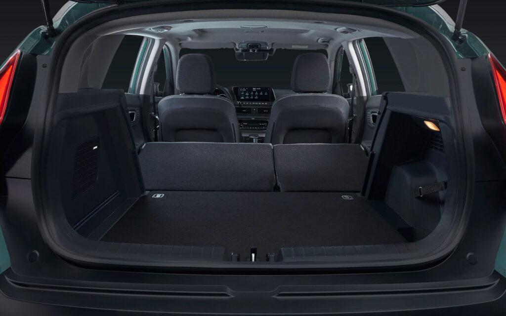 2021 Hyundai Bayon Bagaj Hacmi