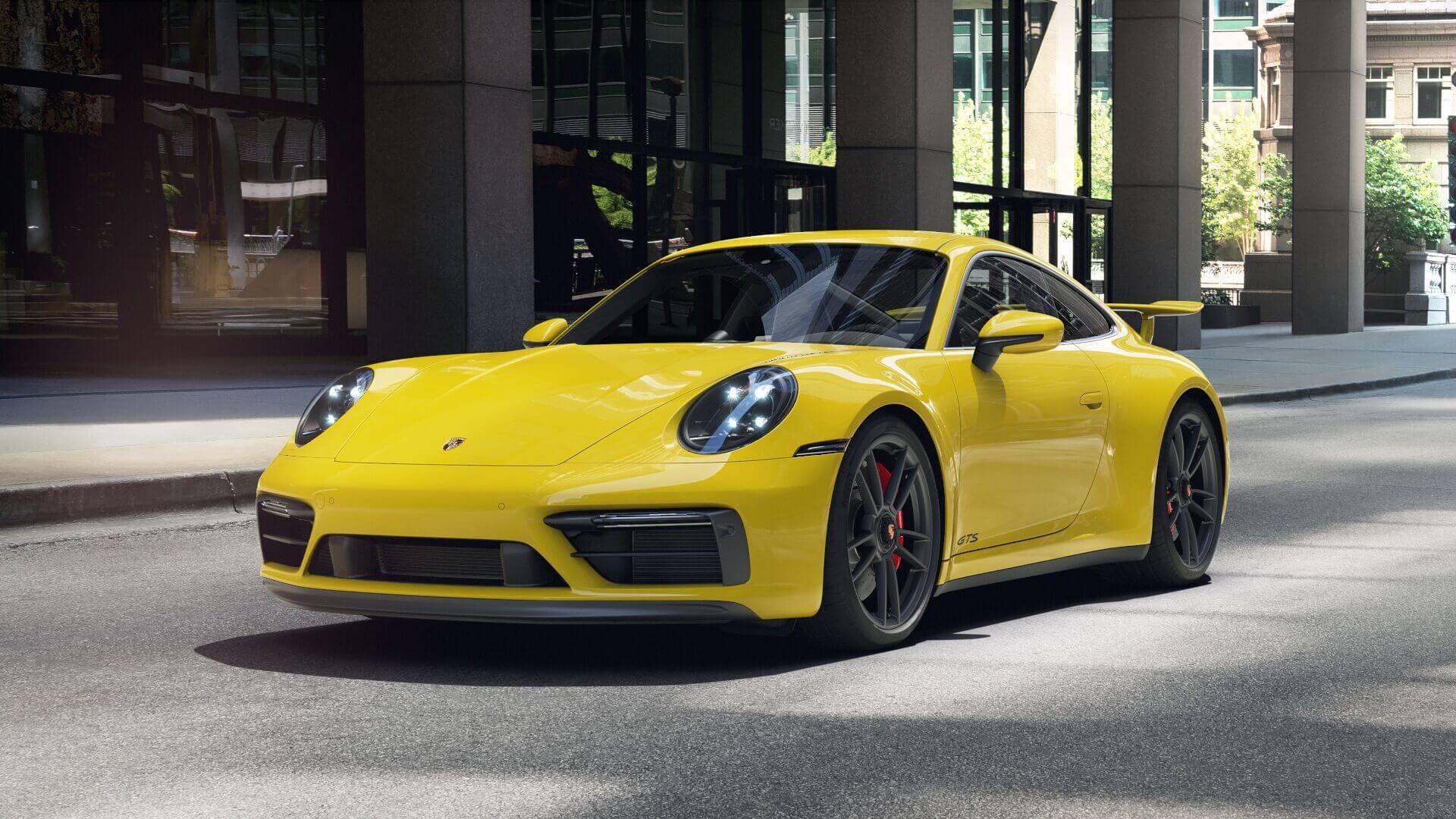 2021 Porsche 911 Carrera GTS