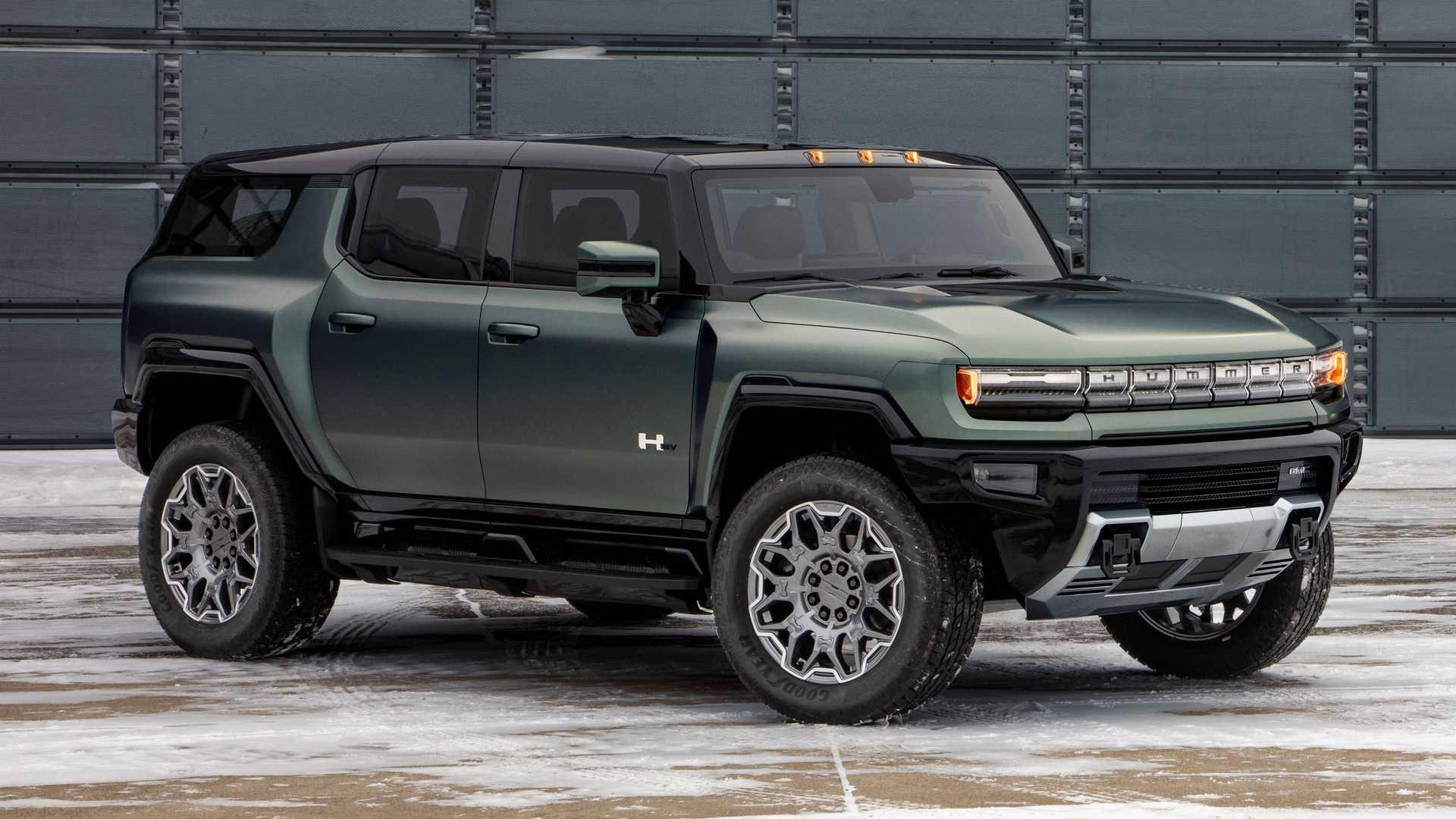 2023 Hummer EV Elektrik SUV Extreme Off-Road 3 Motor