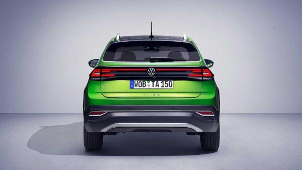 2022 Volkswagen Taigo Arka Görüntü