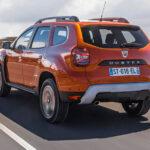 2021 Dacia Duster Arka Görünüm