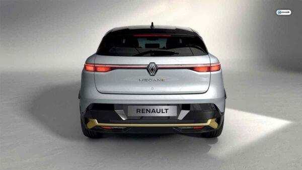 2022 Renault Megane E-Tech Arkadan Görünüm