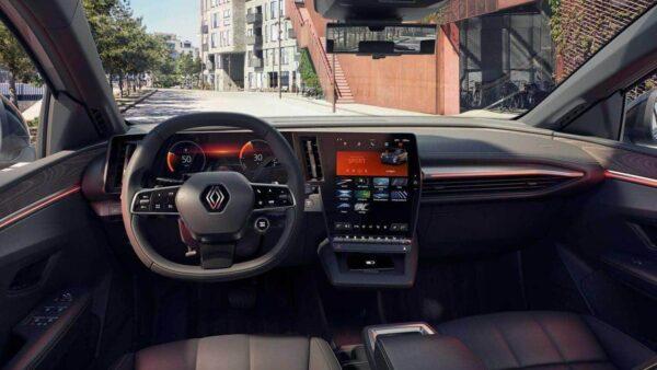 2022 Renault Megane E-Tech İç Donanım